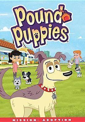 POUND PUPPIES: MISSION ADOPTION (Rene Auberjonois) - DVD - Region 1 Sealed