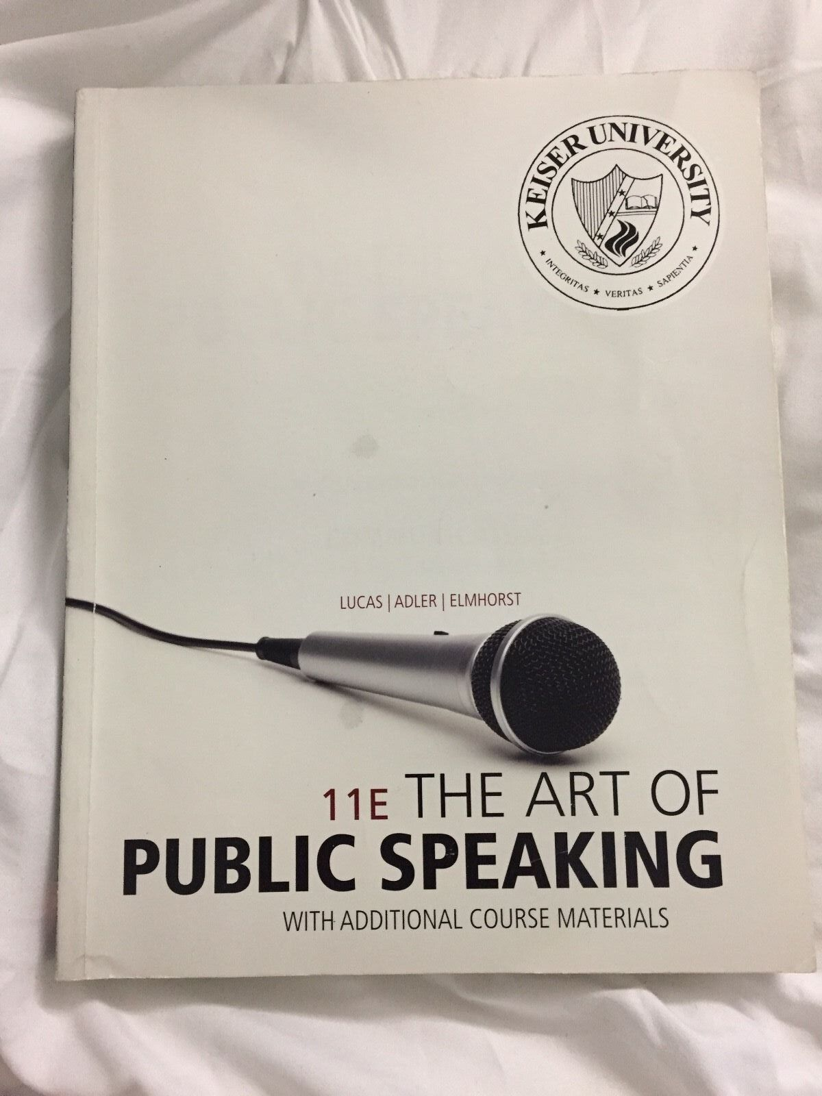 9780077629489 The Art of Public Speaking 11th Lucas Keiser ...