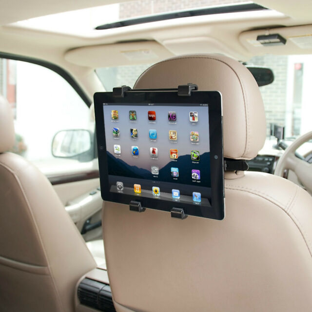 """Universal Headrest Seat Car Holder Mount for iPad 1 2 3 4, Air & 10"""" Tablets"""
