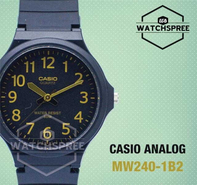 Casio Standard Analog Watch MW240-1B2
