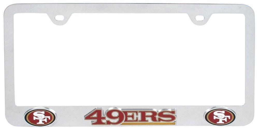 NFL Tag FRAM San Francisco 49ers License Plate Frames | eBay