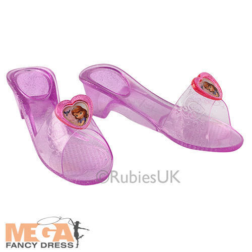 Sofia The First Shoes Girls Fancy Dress Disney Princess Kids Costume Accessory
