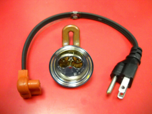Ford Dorset Diesel Engine Block Coolant Frost Plug Heater 1 5  8 U0026quot  600w 120v