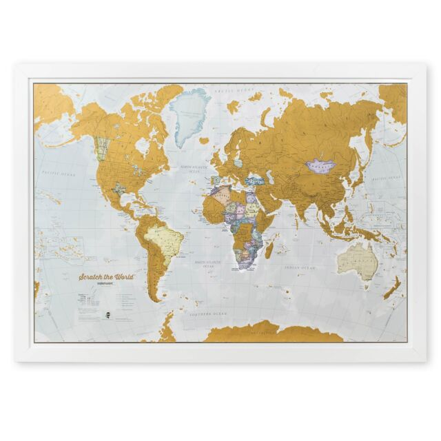 Scratch off your map of the world travel poster detailed cartography scratch the world scratch off your map of the world travel poster detailed gumiabroncs Gallery