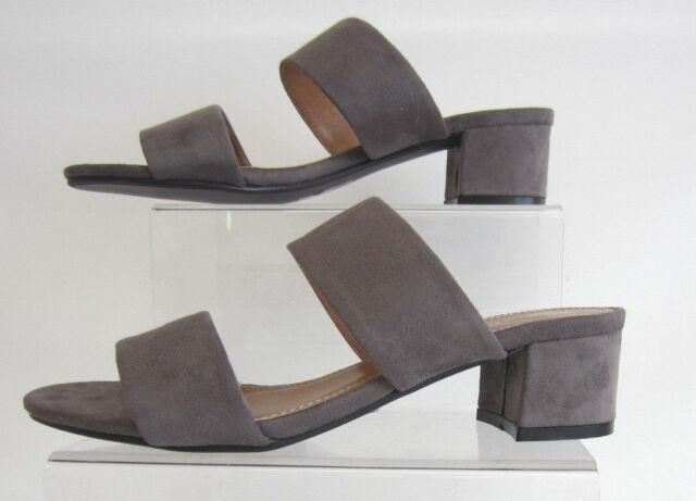Anne Michelle f10627 donna grigio scarpe slipon aperte dietro Sandali