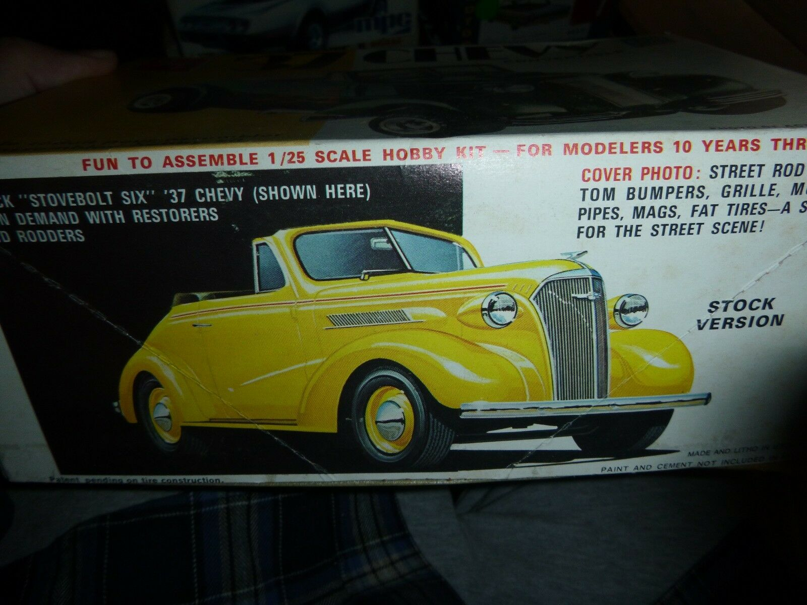 AMT 1959 Corvette Street Rods Series Vintage Model Car Mountain ...