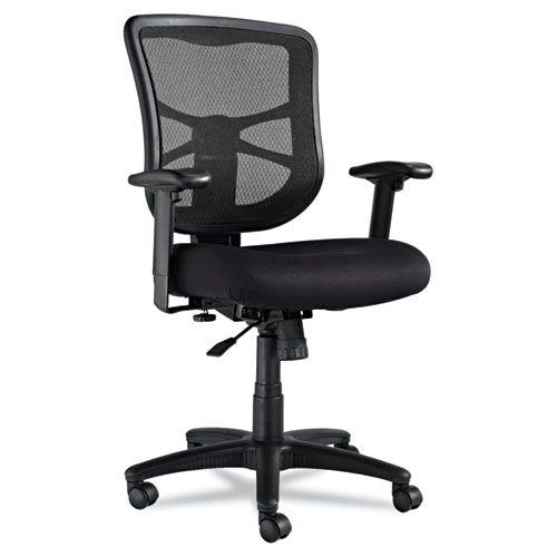 alera elusion series mid back mesh office chair black el42bme10b