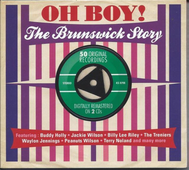 Oh Boy! - The Brunswick Story - 50 Original Recordings (2CD 2012) NEW/SEALED