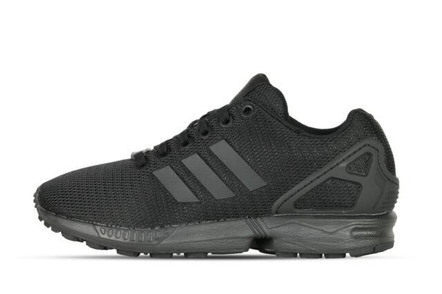"new styles 9950f 0af64 ... Adidas Zx Flux Black Black s32279 Nero Sneaker NUOVO div. mod. TAGLIE  "". ADIDAS Da Uomo Scarpe ..."