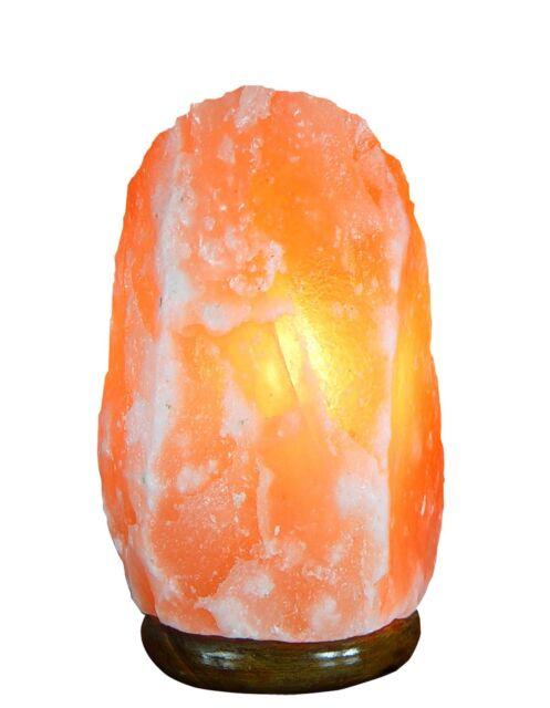 Natural Himalayan Crystal Asthma Ionized Rock Salt Lamps 2 ~ 4 Lbs