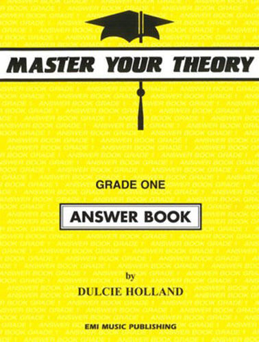 Master Your Theory Grade 1 / One - ANSWER BOOK (Revised Edition) *BRAND NEW*