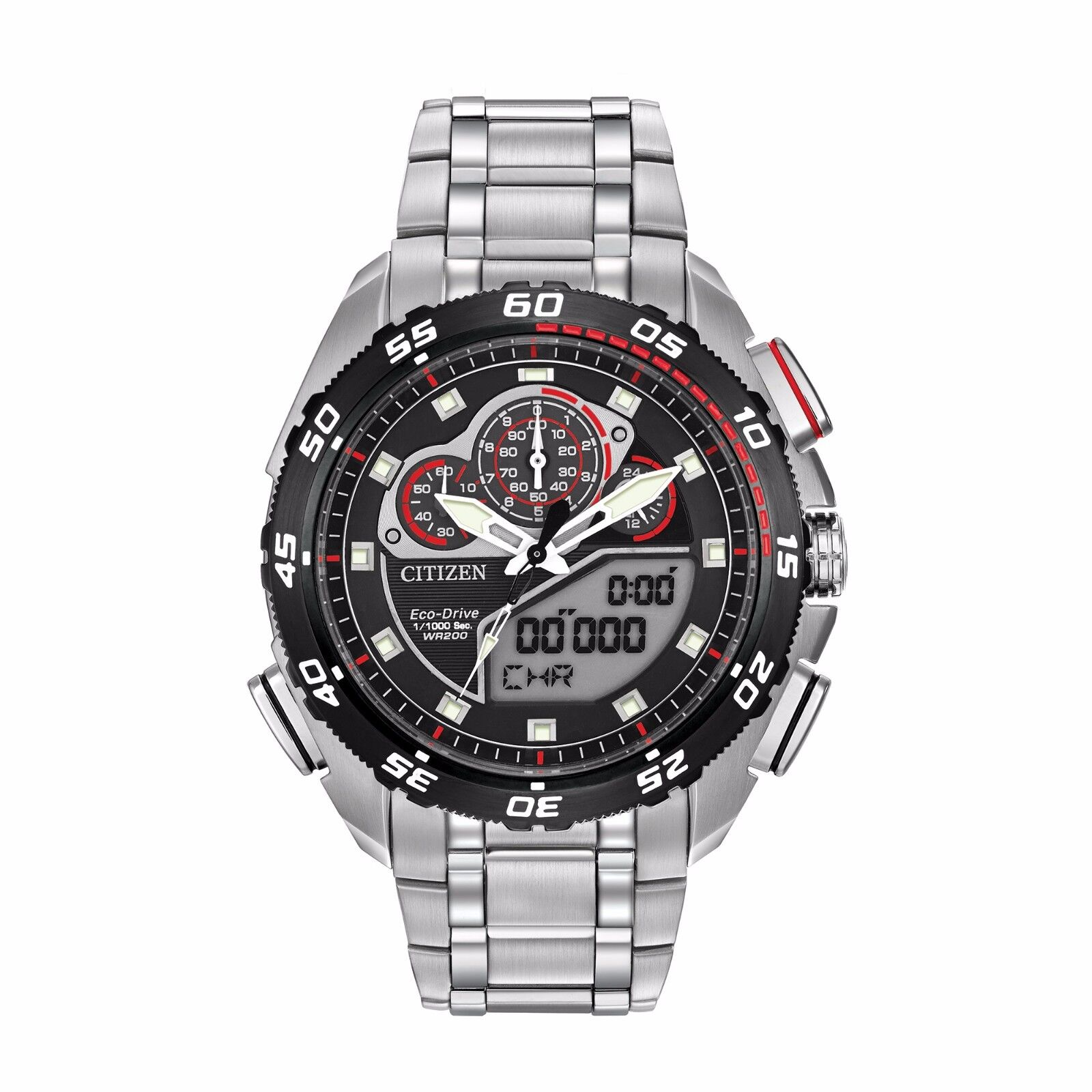 Citizen Eco drive Men s Jw0111 55e Promaster Super Sport Chronograph