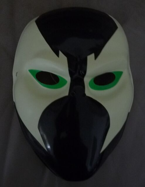 Spawn PVC Light Weight Plastic Costume Mask New