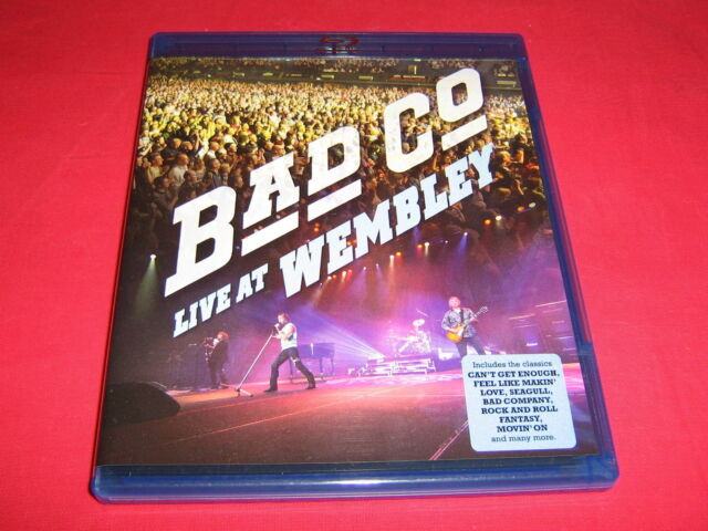 BAD COMPANY = Live At Wembley 2010 = Blu–ray/ Neu