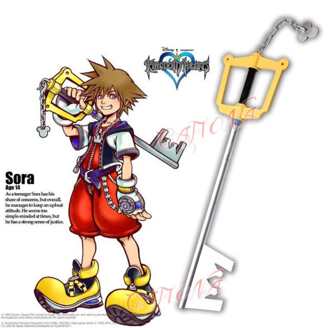 Sora Kingdom Hearts 1520074: Kingdom Hearts II Sora Roxas Keyblade/key Blade Prop