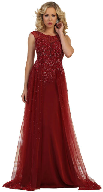 Designer Prom Party Gown Cruise Gala Evening Pageant Formal Long