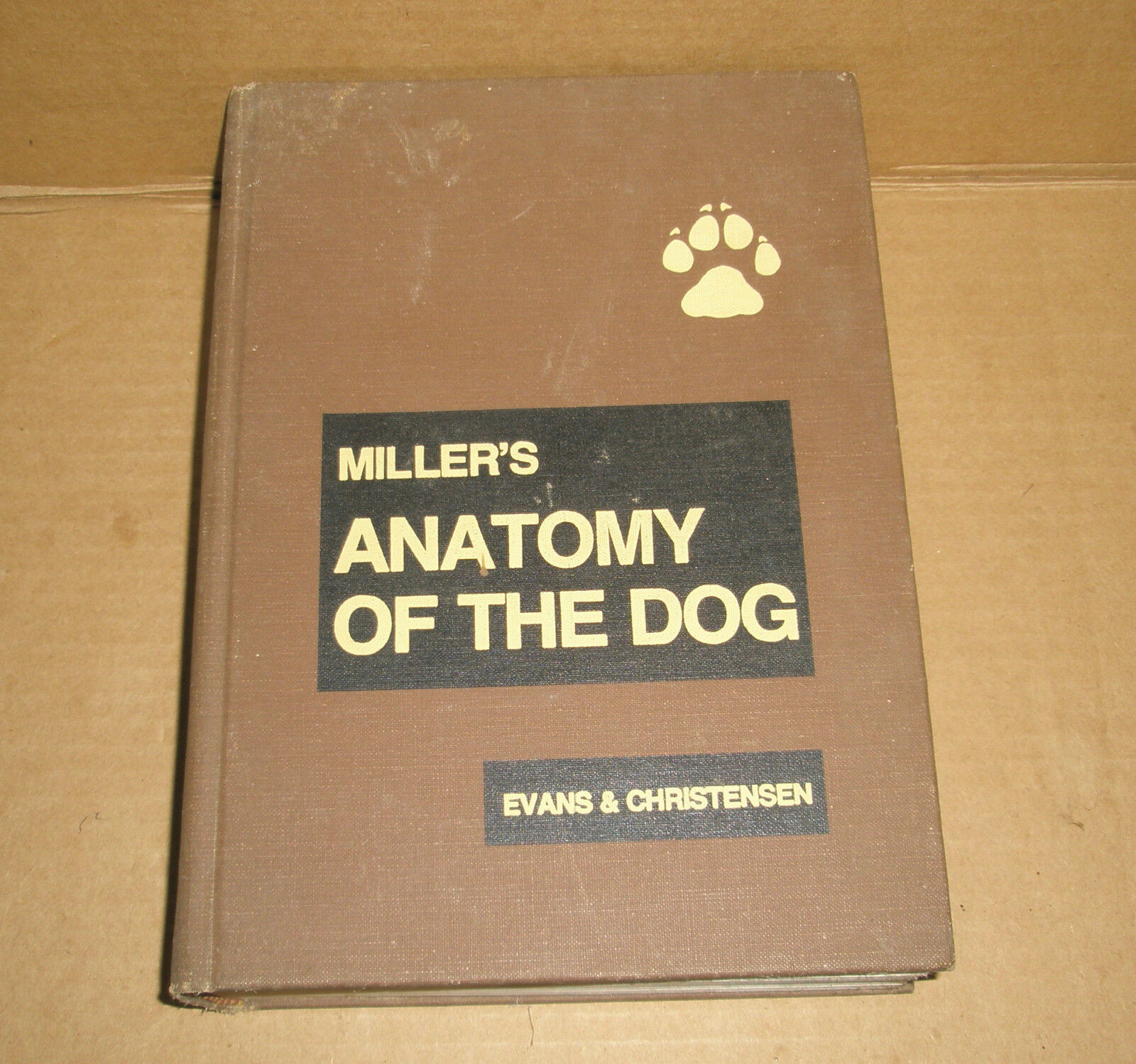 Miller\'s Anatomy of the Dog by George C. Christensen and Howard E ...
