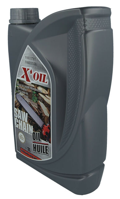 2 Litre Bottle Of CHAIN OIL Suitable For HUSQVARNA Chainsaws. Extra Tacky Sticky