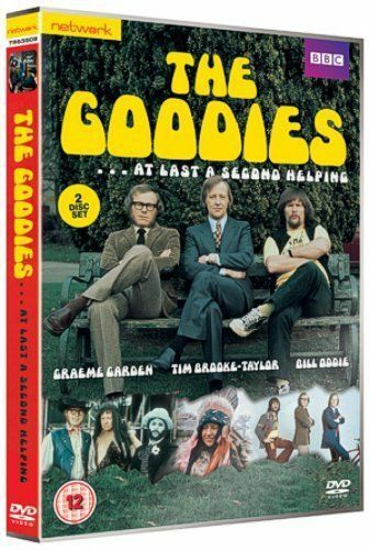 THE GOODIES At Last a second helping BBC series.  2 discs. New sealed DVD.