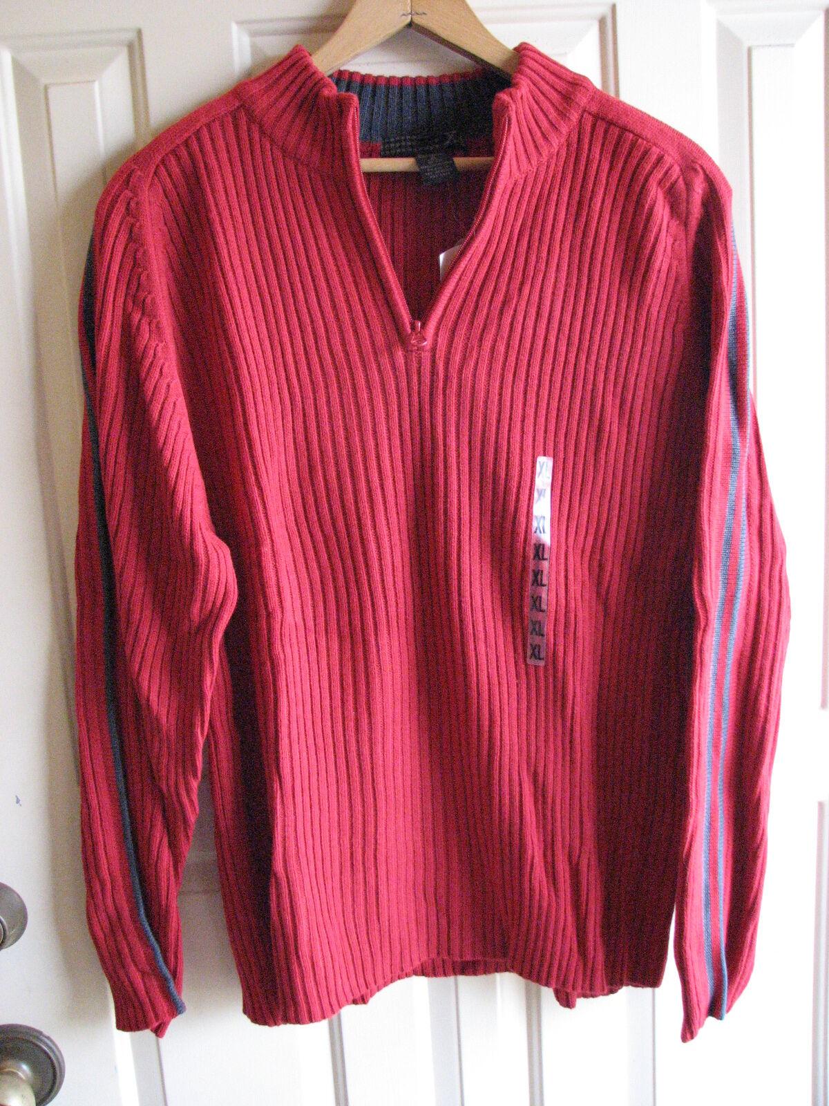 Chaps 1/4 Zip Red Sweater Boys XL 18-20 | eBay