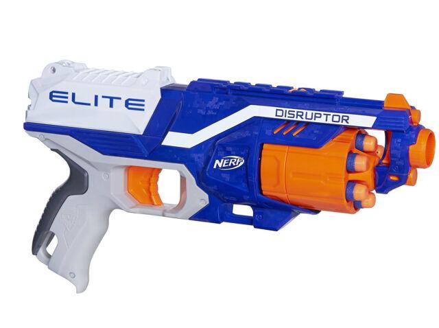 Nerf Gun Blaster N Strike Elite Disruptor Dart Toy Kids Fun Play Children  Darts
