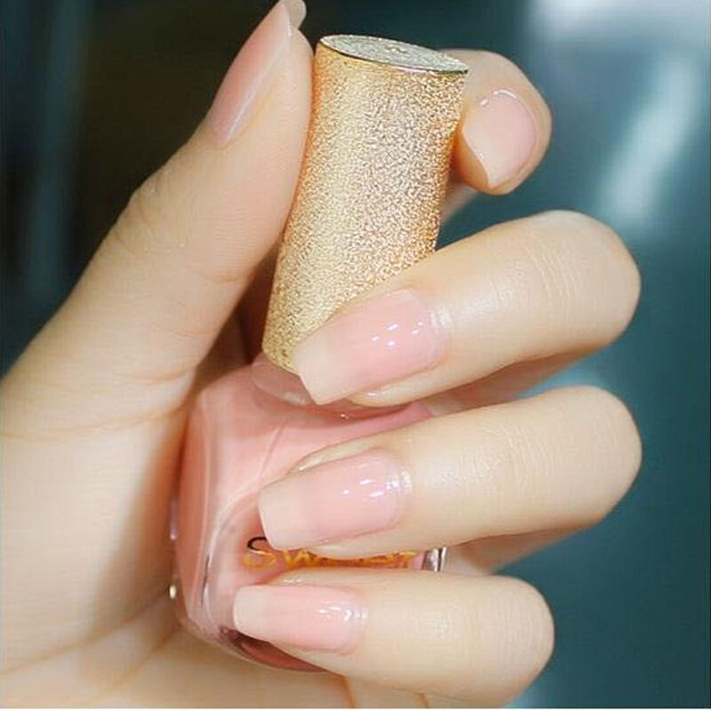 1 bottle 12ml sweet color nail art polish nude pink varnish picture 1 of 5 prinsesfo Images