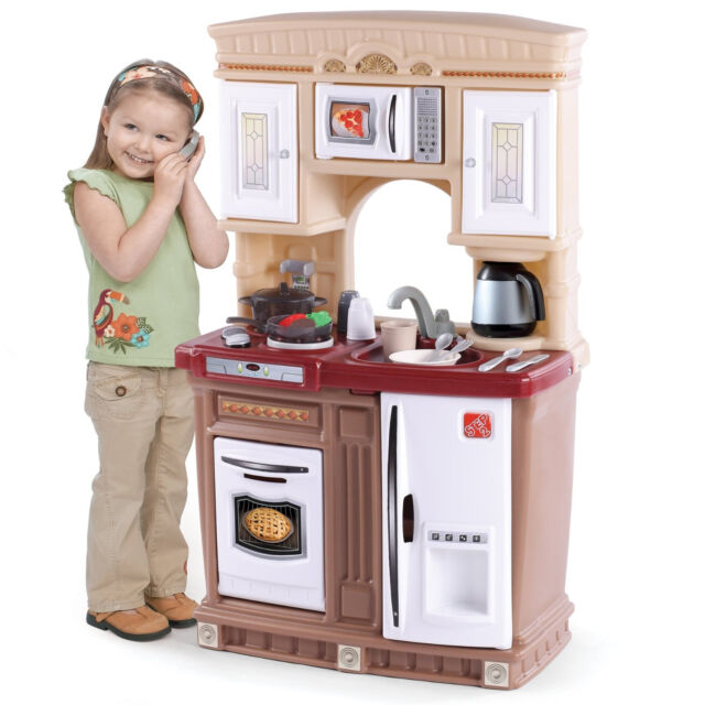 Kids Pretend Play Toy Kitchen Set Toddler Cooking Toys Playset Children Gift
