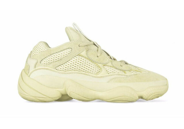 Adidas Yeezy 500 Desert Rat Super Moon Yellow Size 11 + Receipt DB2966 Deadstock