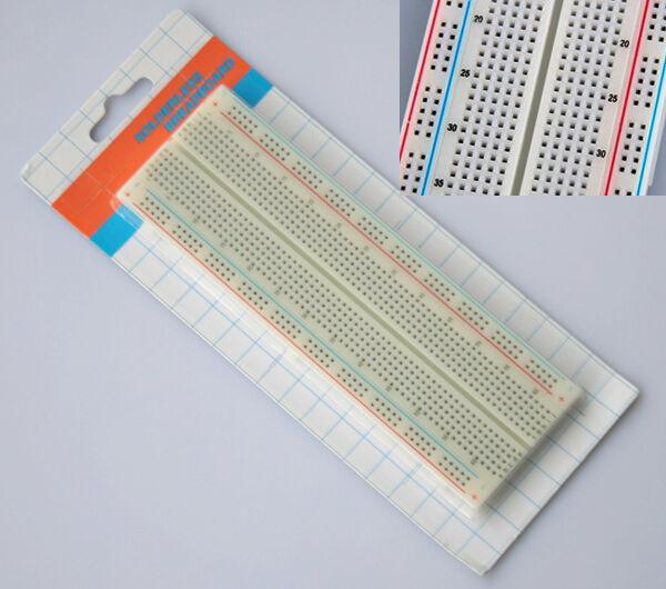 Neu Hot1 Stück MB-102 MB102 Steckboard Experimentierboard Breadboard 830 Punkte
