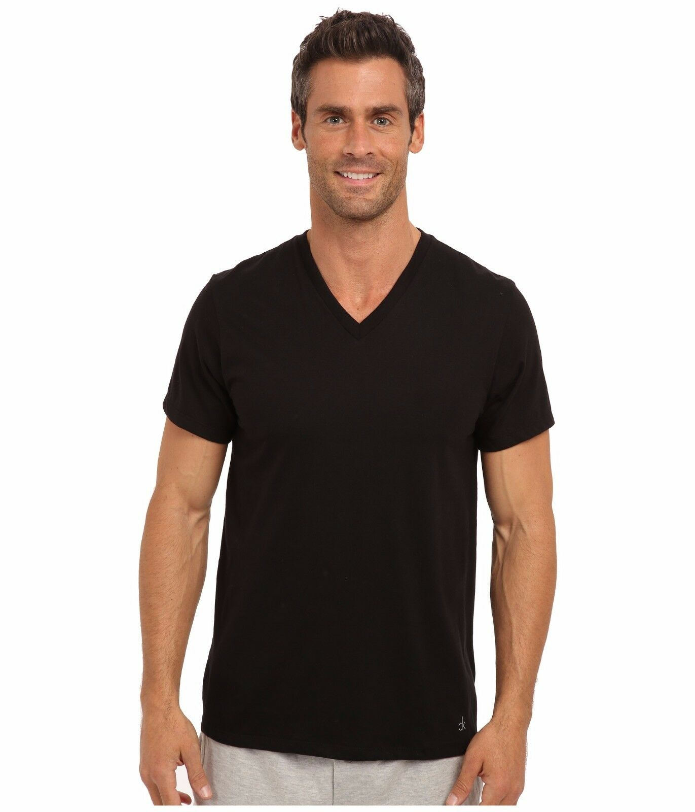 EC3052 Econscious Women/'s 100/% Cotton Short Sleeve V-Neck T-Shirt,10-Pack