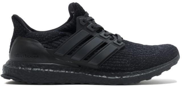 Adidas Ultra Boost 10,5 Trippel Svart