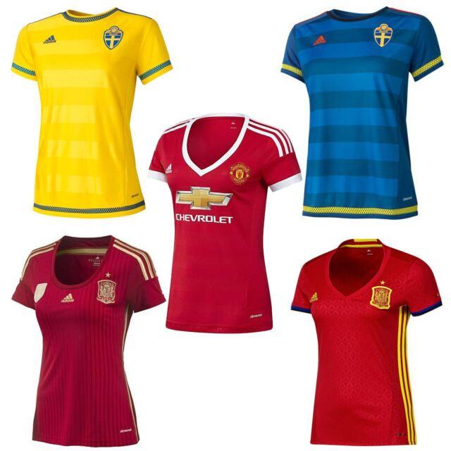 Adidas Calcio Performance Donne Svezia Football Calcio Adidas A Jersey Camicia 5e92e6