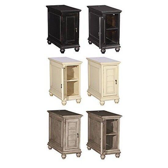 Powell Olsen Grey Shutter Cabinet 16A8257G | EBay