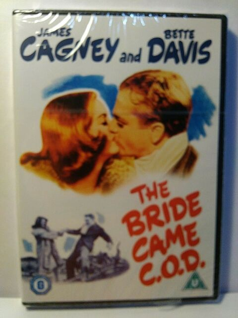The Bride Came C.O.D. James Cagney, Bette Davis - UK DVD -New/Sealed