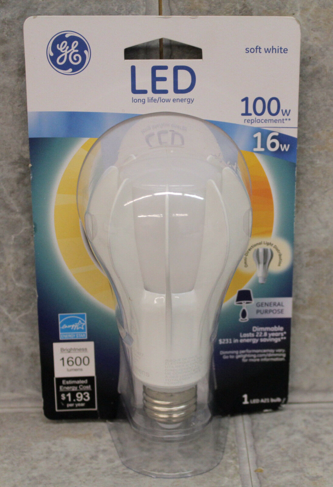 Brand new lowest price & GE 13918 Dimmable 16w A21 LED 100w Equal 1600 Lumens Light Bulb ... azcodes.com