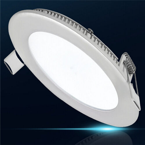 6 Inch Par30 Adjustable Gimbal Ring Trim White Recessed: Long Life Lamp LED Downlight Round Recessed - White