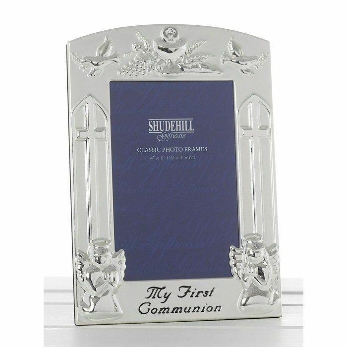 Polished Siver My First Communion Photo Frame 4 X 6 Inches | eBay