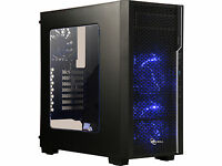 Case Rosewill MAGNETAR ATX Mid Tower Computer Case Chassis with Power Supply (Black)