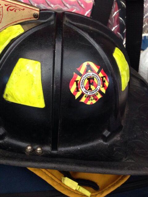 Firefighter Helmet Decals