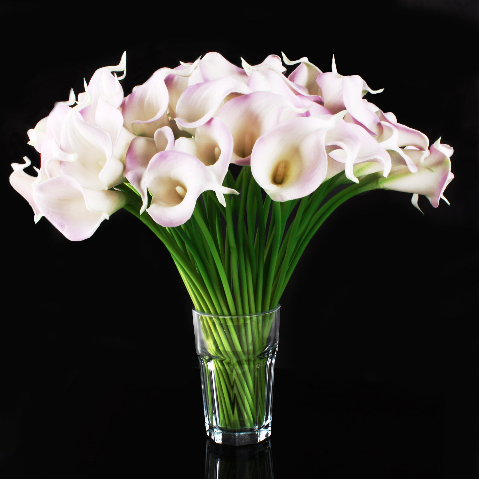 6-20 Head Real Latex Touch Calla Lily Flower Bouquets Bridal Wedding ...