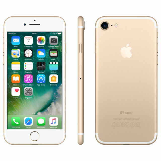 Apple iPhone 7 128 Go Or Débloqué tout operateur Bon état MN942ZD/A
