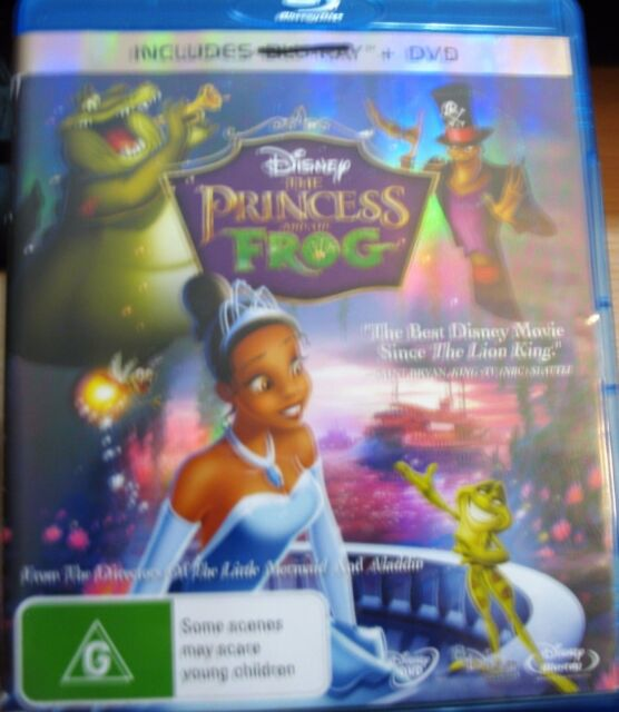 Disney Princess and the Frog DVD       G Rating