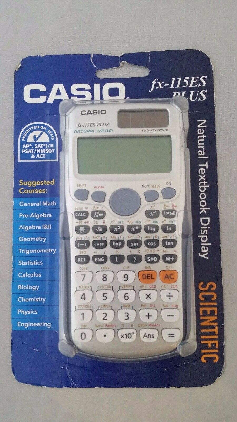 Casio FX-115ES PLUS Scientific Calculator | eBay