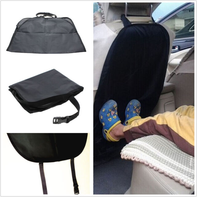 Black Nylon Car Baby Infant Child Seat Saver Protector Safety Anti Dirty Pad Mat
