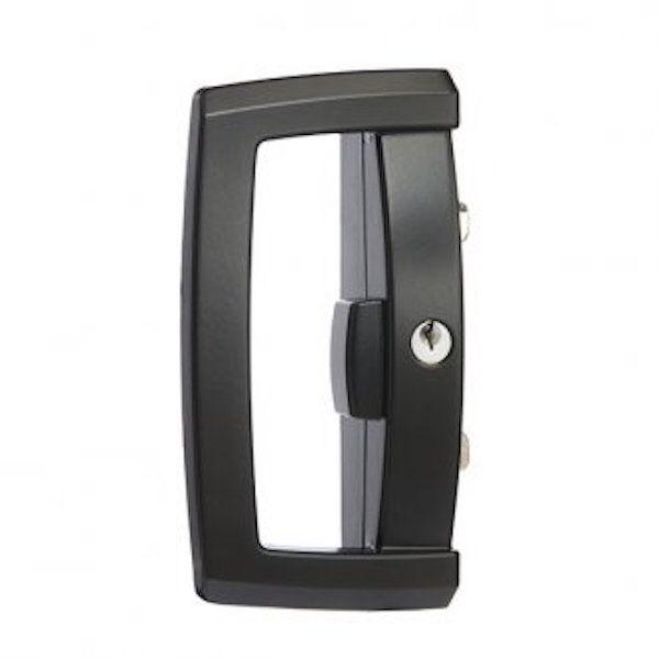 5x Lockwood Onyx Sliding Patio Door Lock Handle Lockset Only Black ...
