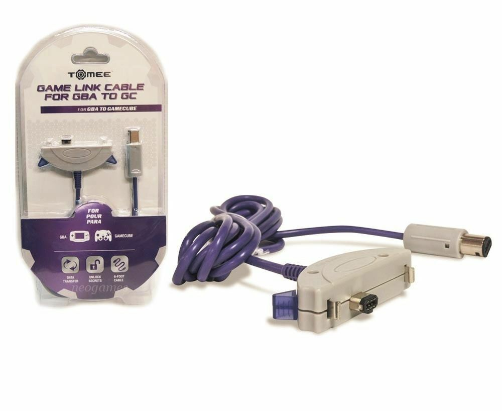 Game boy color kabel - Tomee 6 Game Link Cable For Nintendo Gba Game Boy Advance To Gamecube New