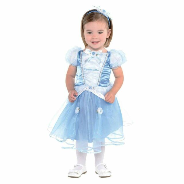 Disney Princesses Blue Cinderella Gown Dress Baby Fancy Dress Photoshoot Costume  sc 1 st  eBay : toddler disney princess costume  - Germanpascual.Com