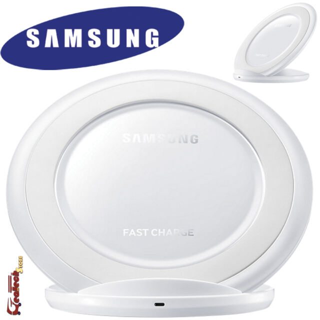 Samsung EP-NG930BW Wireless Charger Stand ORIGINALE Per Galaxy S7 S7 Edge Bianco