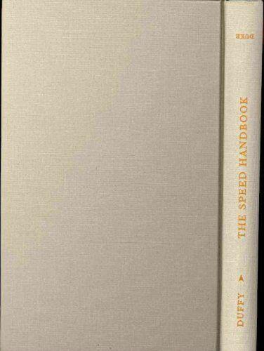 The Speed Handbook: Velocity, Pleasure, Modernism by Enda Duffy (Hardback, 2009)