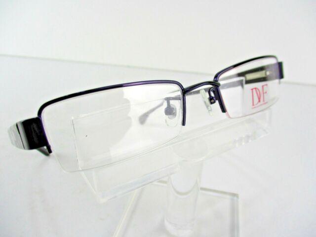 DVF 8016 (500) Purple 48x18 135mm Eyeglass Frames | eBay